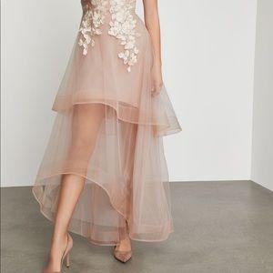 BCBG Metallic Lace Dress